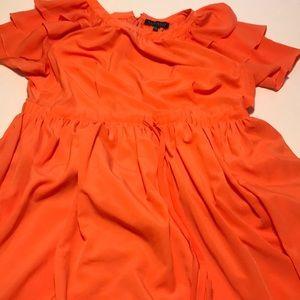 Eloquii orange dress size 24